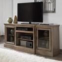 """Progressive Furniture Andover Court 74"""" Console - Item Number: P745-74"""