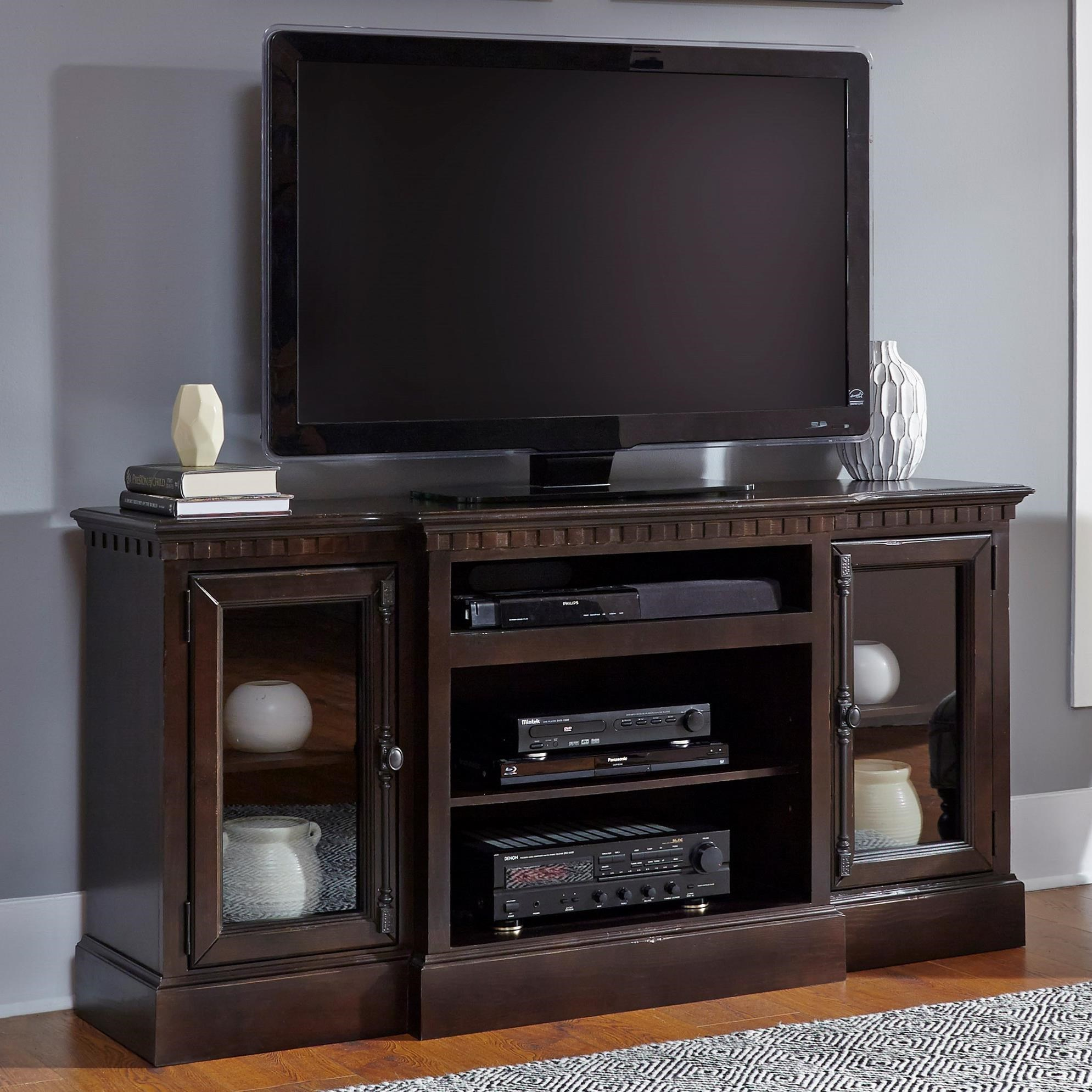 "Andover Court  64"" Console by Progressive Furniture at Simply Home by Lindy's"