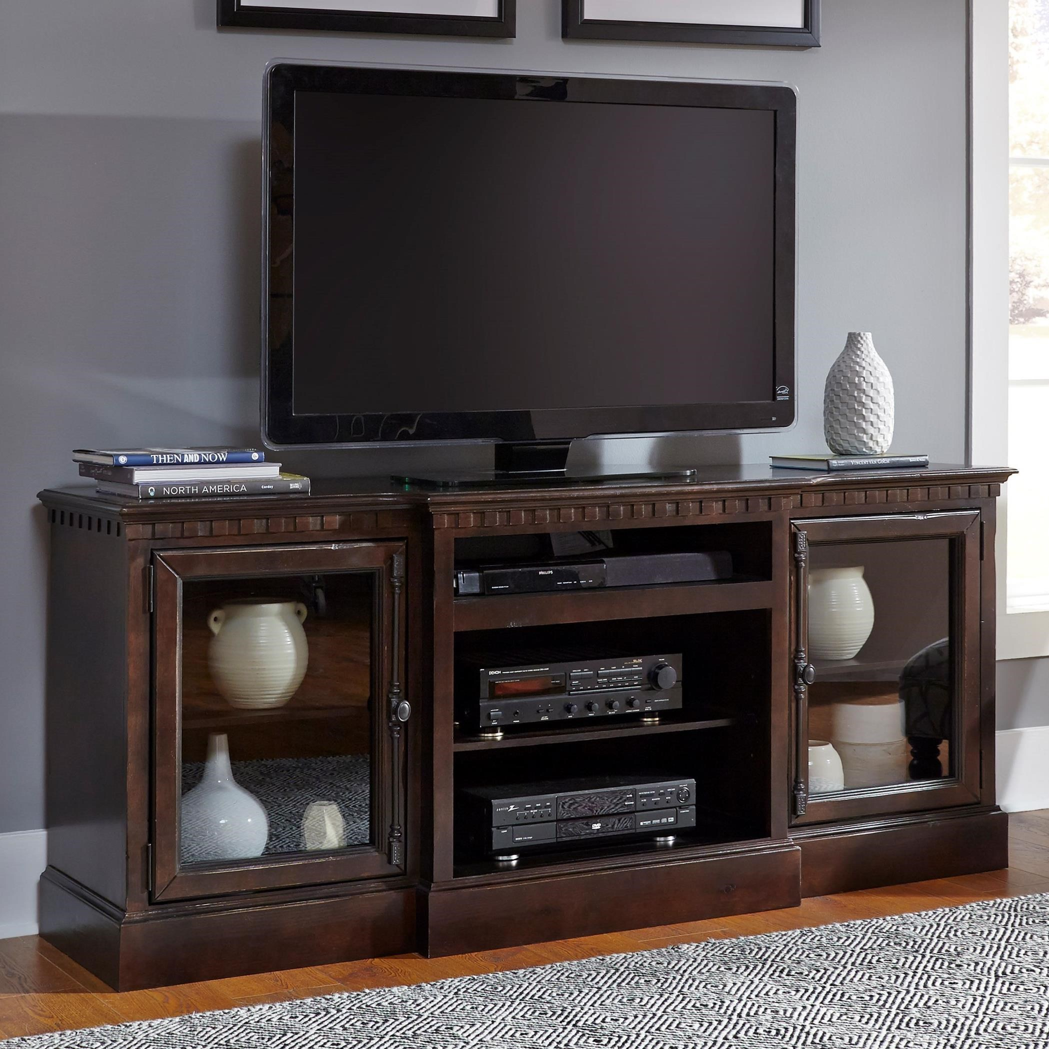"""Andover Court  74"""" Console by Progressive Furniture at Simply Home by Lindy's"""