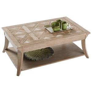 Progressive Furniture Appeal II Rectangular Cocktail Table