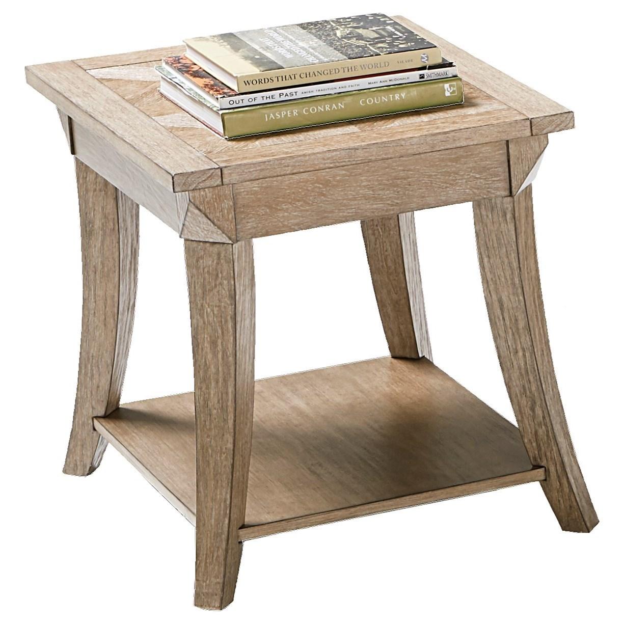 Progressive Furniture Appeal II Rectangular End Table - Item Number: T358-04