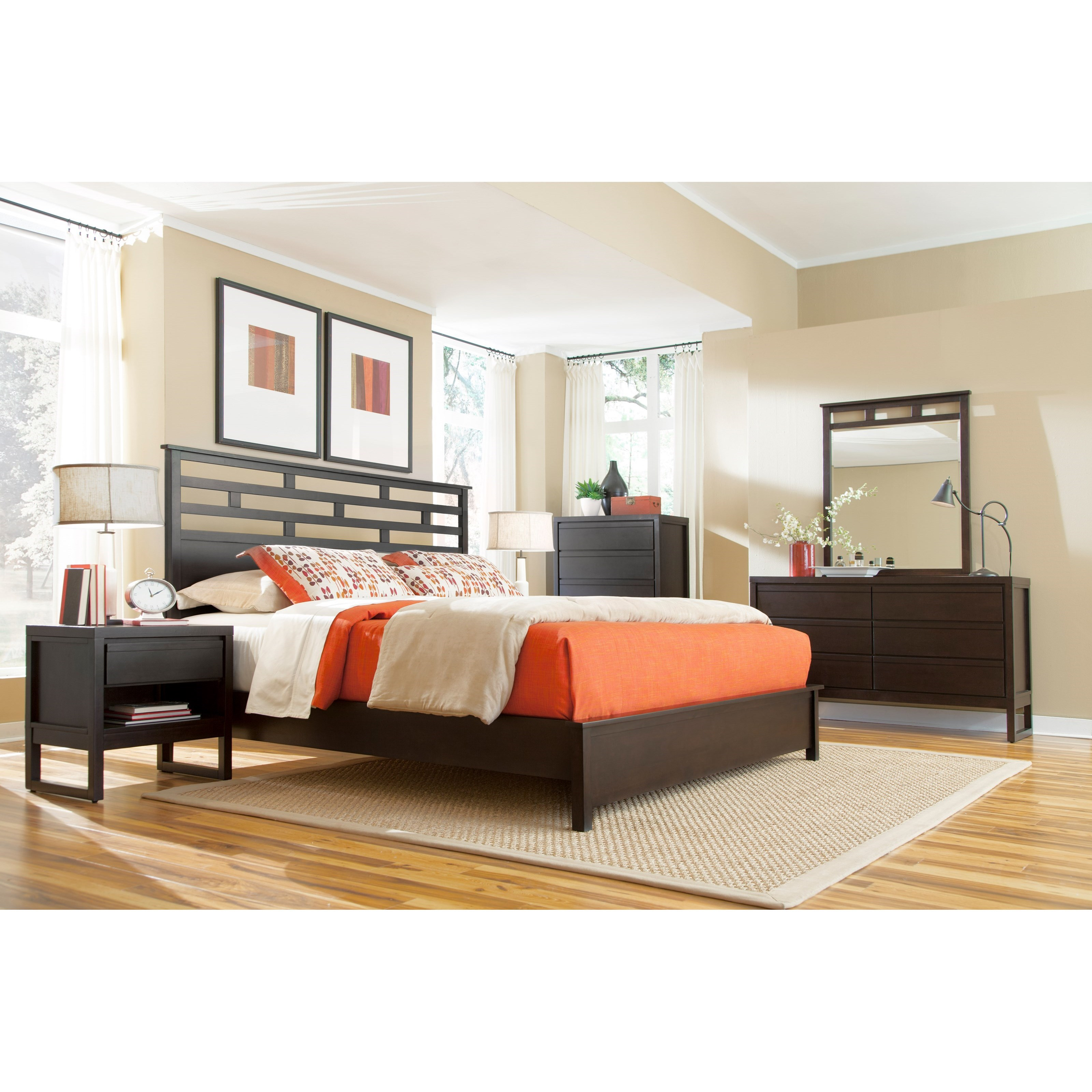 Athena Queen Bedroom Group by Progressive Furniture at Carolina Direct