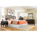 Progressive Furniture Athena Queen Bedroom Group - Item Number: P109 Q Bedroom Group 2