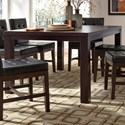 Progressive Furniture Athena Rectangular Dining Table - Item Number: P109D-10