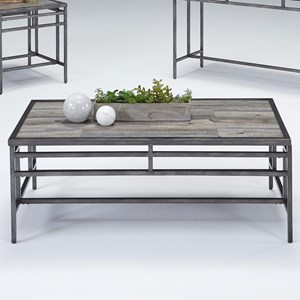 Progressive Furniture Aurora Rectangular Cocktail Table
