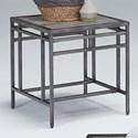 Progressive Furniture Aurora Square End Table - Item Number: T260-04