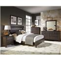 Monday Company Progressive King Bed, Dresser, Mirror, and Nightstand - Item Number: GRP-B645-KINGSUITE