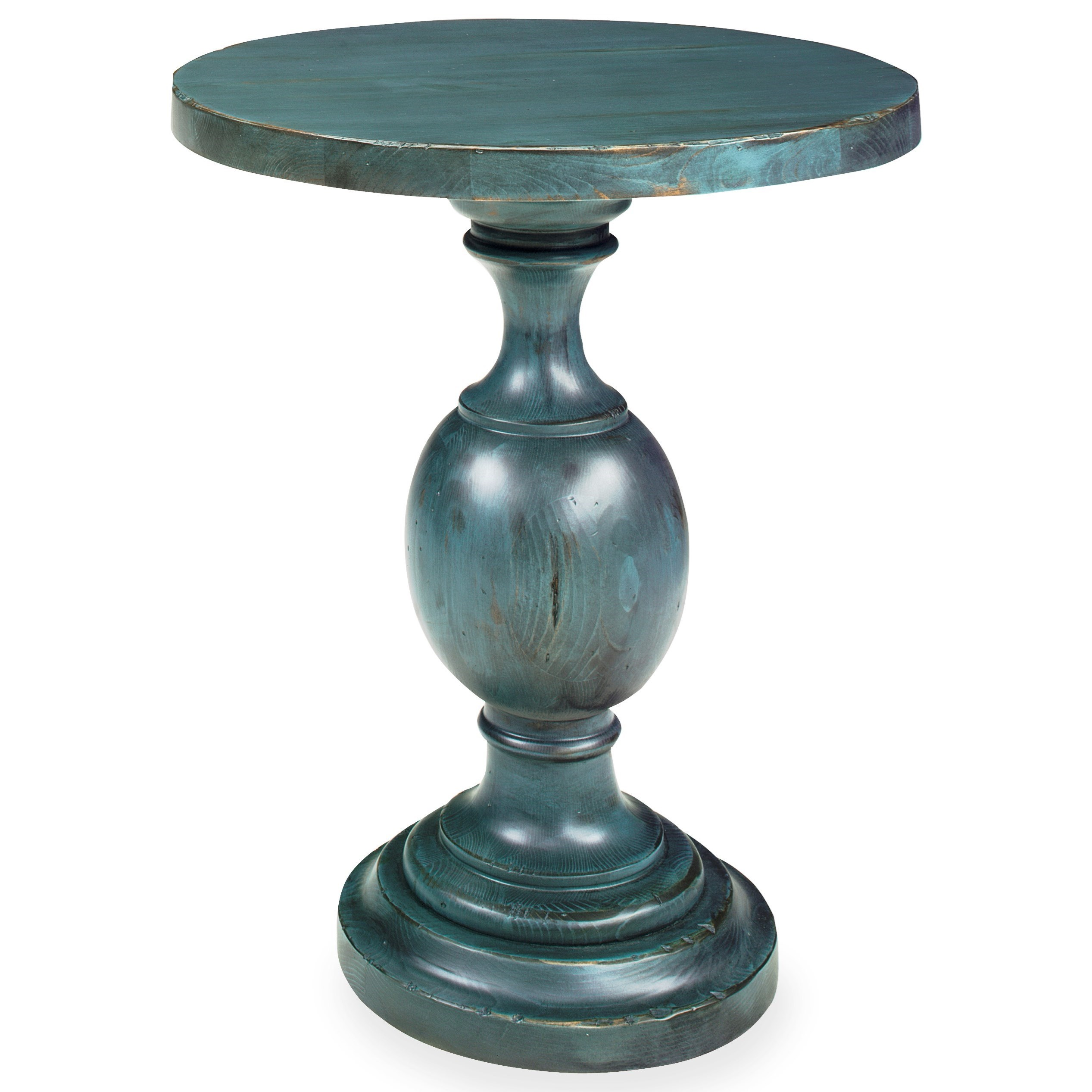 Progressive Furniture Bailey Chairside Table - Item Number: A703-68D