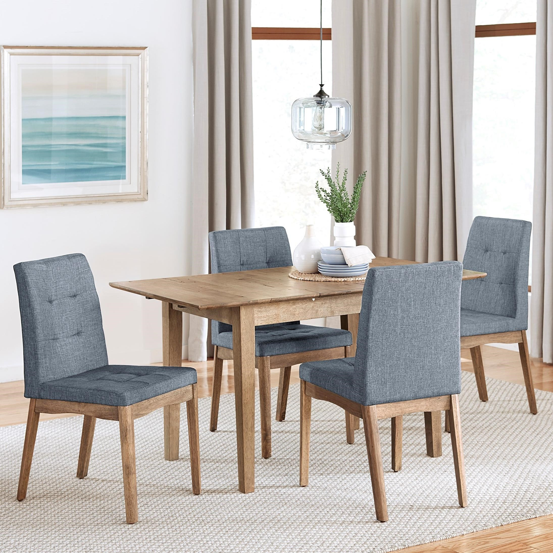 5-Piece Butterfly Dining Table Set