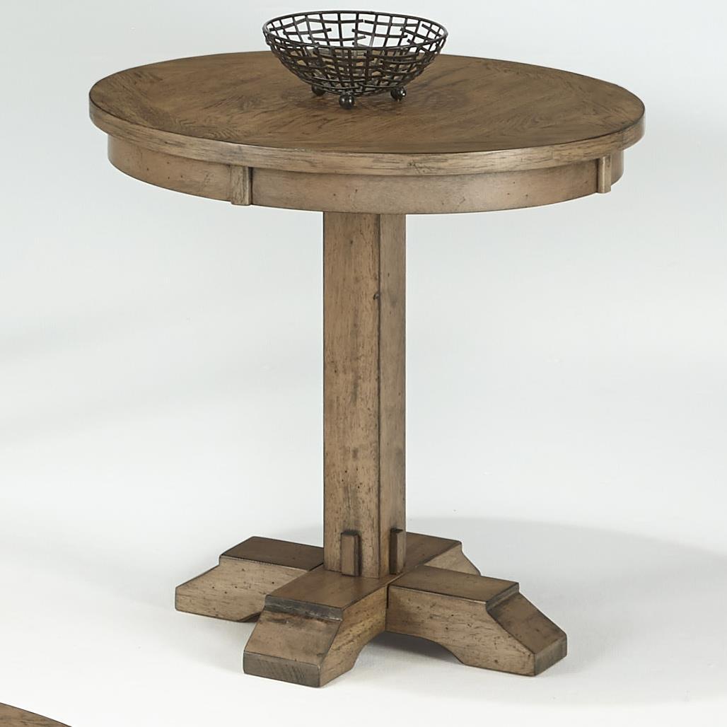 Progressive Furniture Boulder Creek Round Pedestal Table - Item Number: P549-03