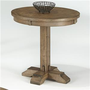 Progressive Furniture Boulder Creek Round Pedestal Table