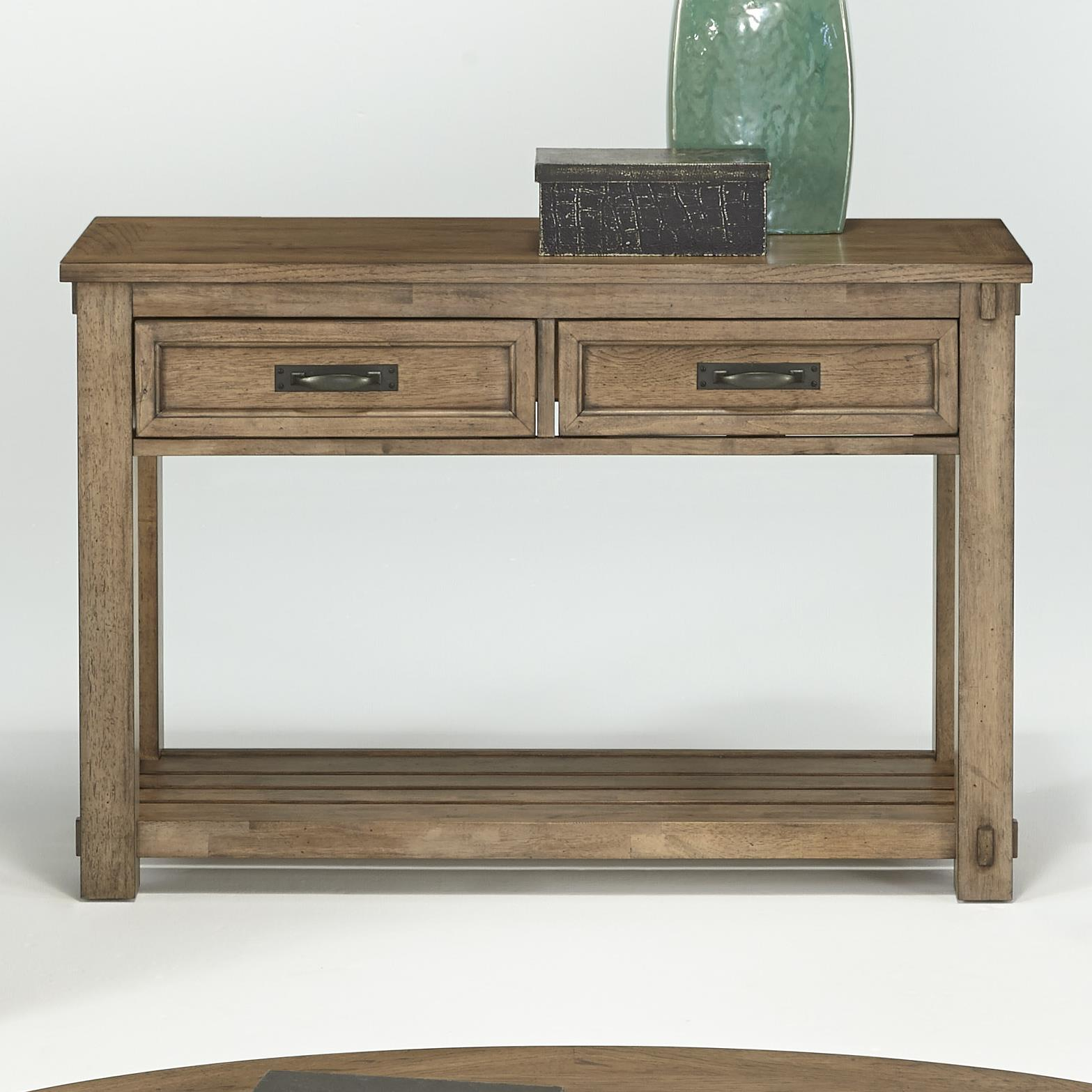 Progressive Furniture Boulder Creek Sofa/Console Table - Item Number: P549-05