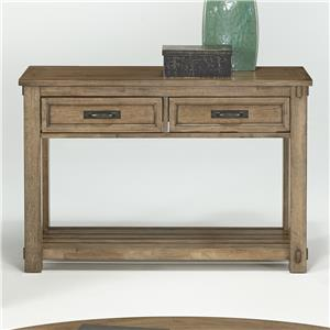 Progressive Furniture Boulder Creek Sofa/Console Table