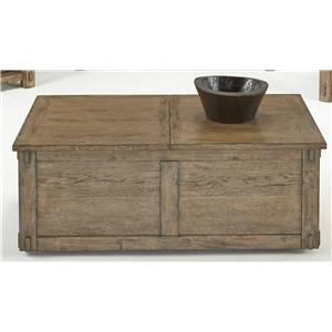 Progressive Furniture Boulder Creek Castered Trunk Cocktail Table
