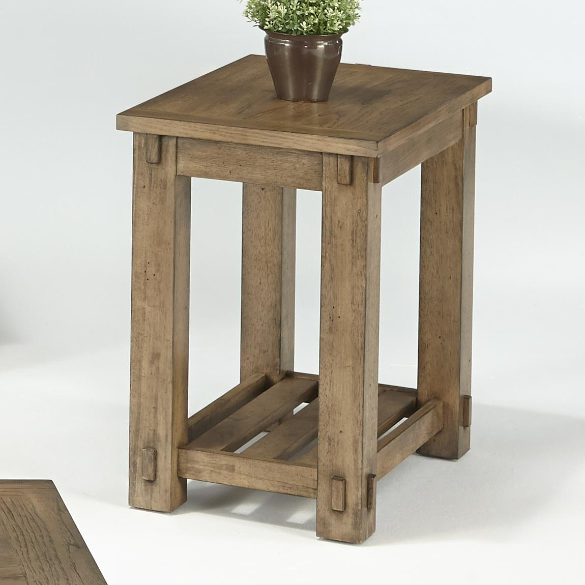 Progressive Furniture Boulder Creek Chairside Table - Item Number: P549-29