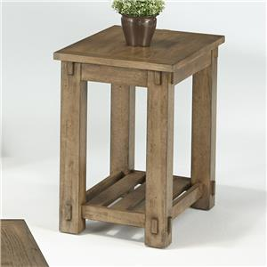 Progressive Furniture Boulder Creek Chairside Table