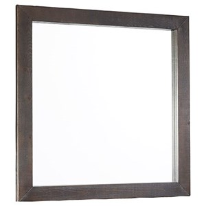 Progressive Furniture Brickyard Square Mirror