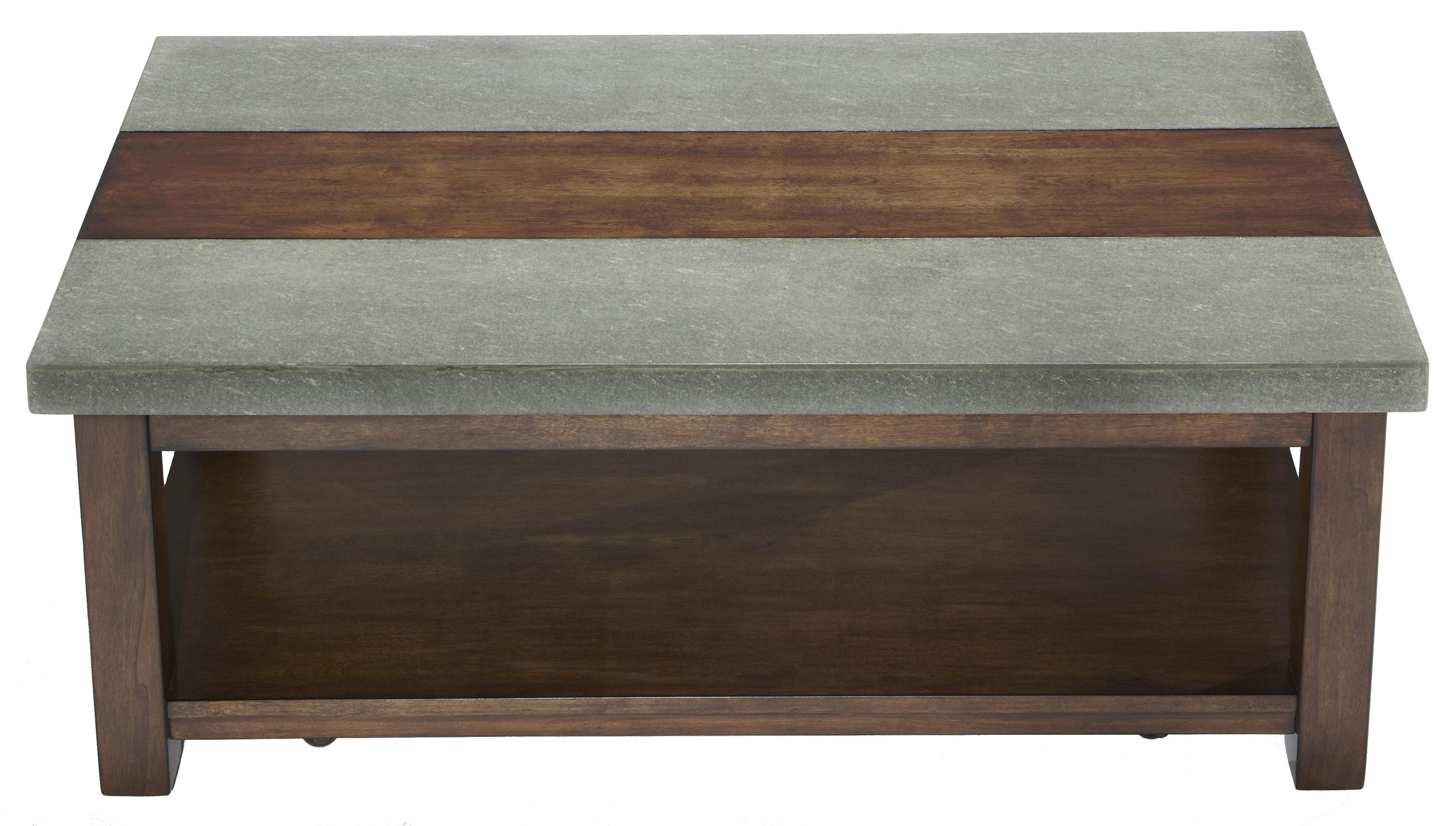 Progressive Furniture Cascade Rectangular Cocktail Table - Item Number: P426-01