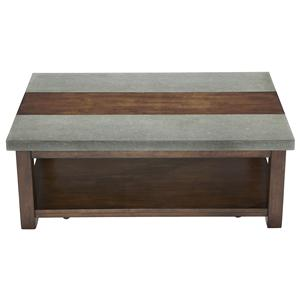 Progressive Furniture Cascade Rectangular Cocktail Table