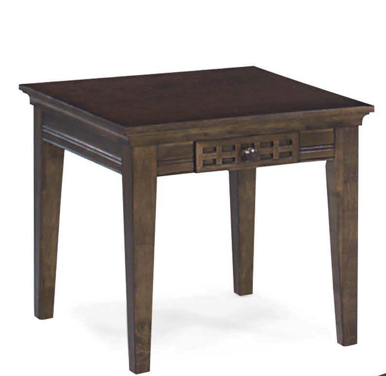 Progressive Furniture Casual Traditions End Table - Item Number: P107-02