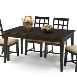 Progressive Furniture Casual Traditions Rectangular Dining Table