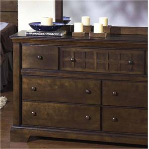 Progressive Furniture Casual Traditions Drawer Dresser