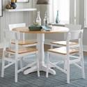 Progressive Furniture Christy Dining Table - Item Number: D878-13B+13T