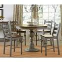 Progressive Furniture Colonnades  5 Piece Dining Set - Item Number: D880-15B+T+4x64