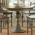 Progressive Furniture Colonnades  Round Counter Table - Item Number: D880-15B+T