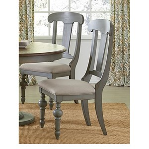 Progressive Furniture Colonnades  Slat Dining Chair