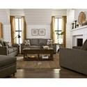 Progressive Furniture Colson Stationary Living Room Group - Item Number: U2022 Living Room Group