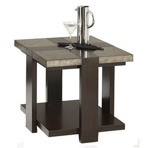 Progressive Furniture Concourse Rectangular End Table