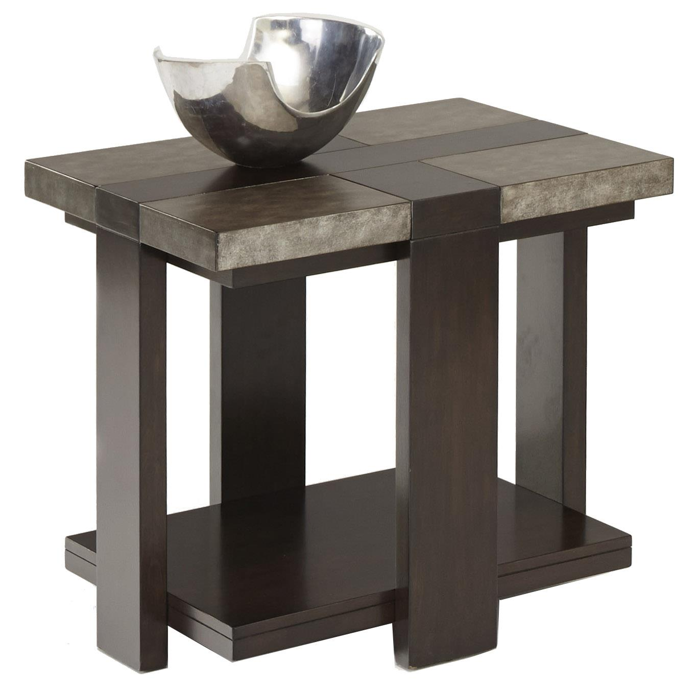 Progressive Furniture Concourse Chairside Table - Item Number: P488-29