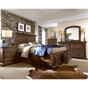 Progressive Furniture Copenhagen King Bedroom Group - Item Number: B621 K Bedroom Group 2