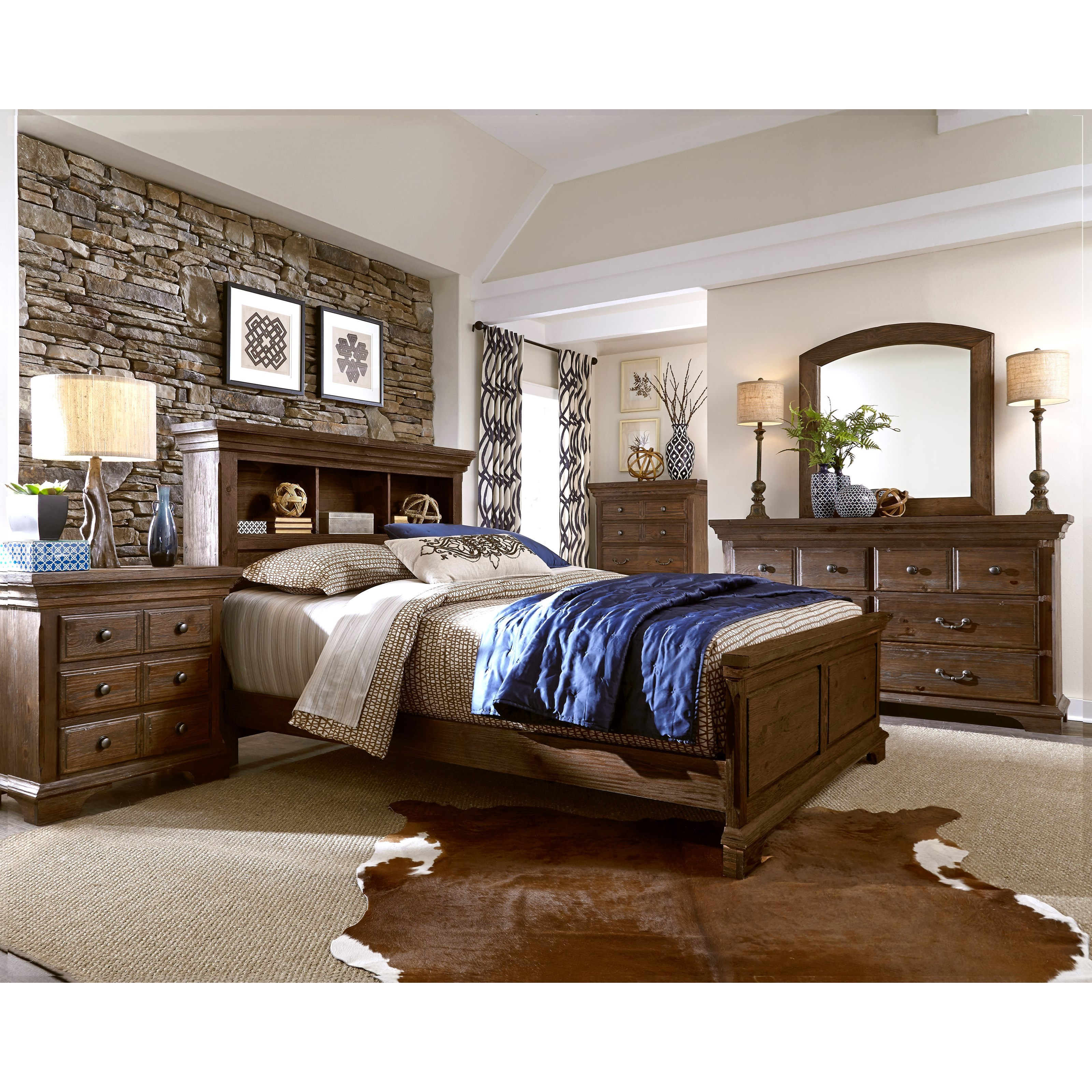 Progressive Furniture Copenhagen King Bedroom Group - Item Number: B621 K Bedroom Group 3