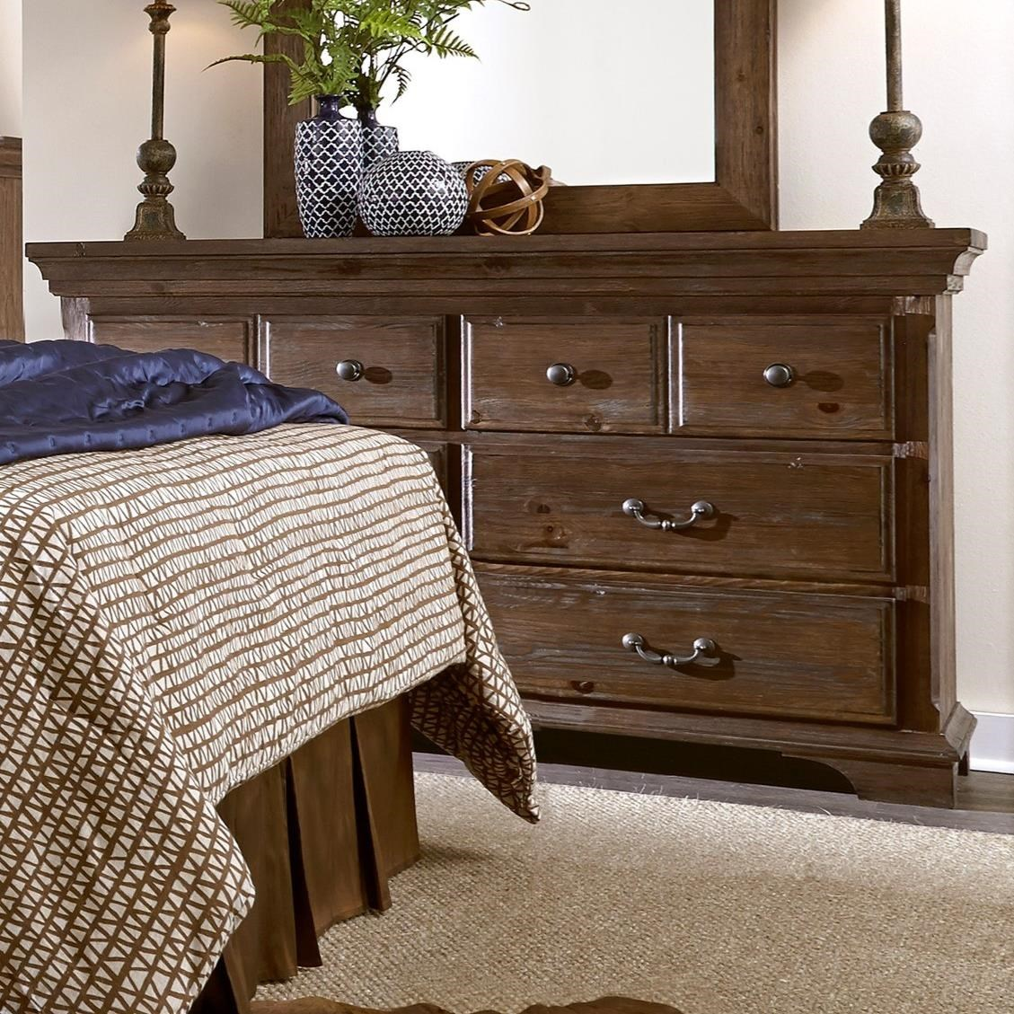 Progressive Furniture Copenhagen Drawer Dresser - Item Number: B621-23