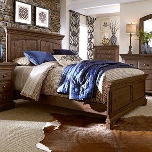 Progressive Furniture Copenhagen King Panel Bed
