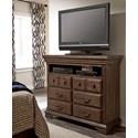 Progressive Furniture Copenhagen Media Chest - Item Number: B621-46