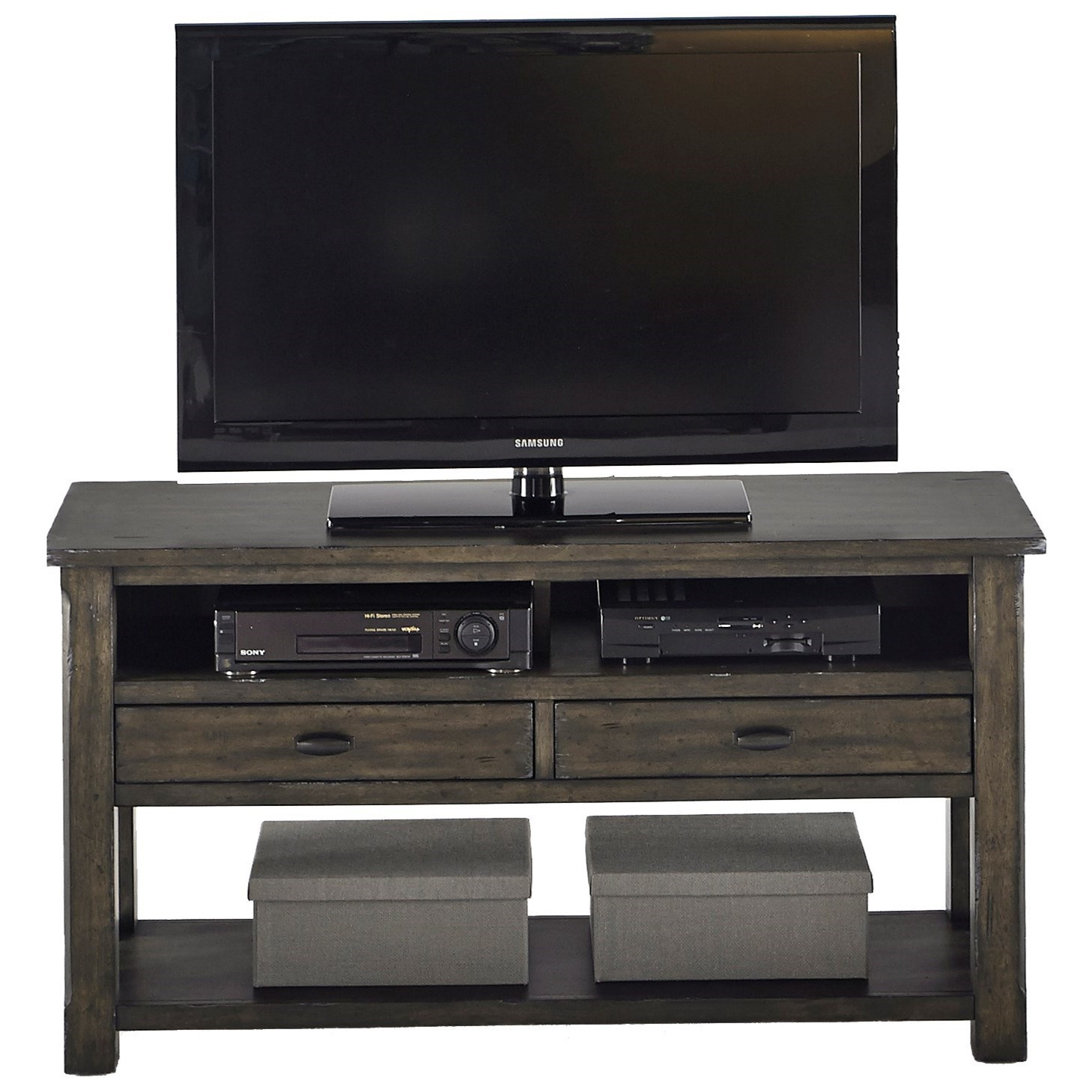 Progressive Furniture Crossroads Entertainment Console - Item Number: T550-60