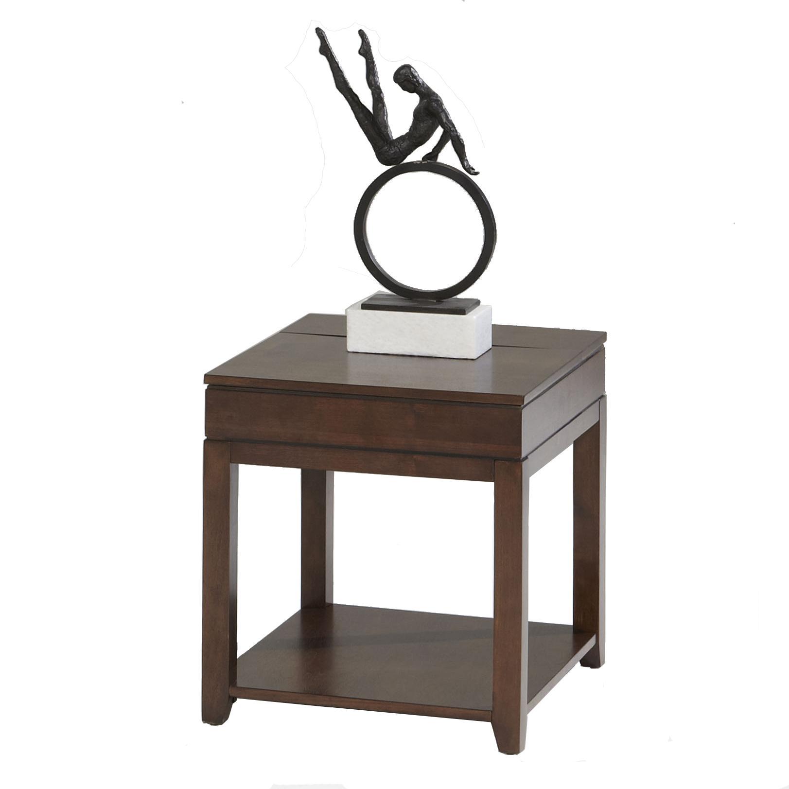 Progressive Furniture Daytona Rectangular End Table - Item Number: P531-04