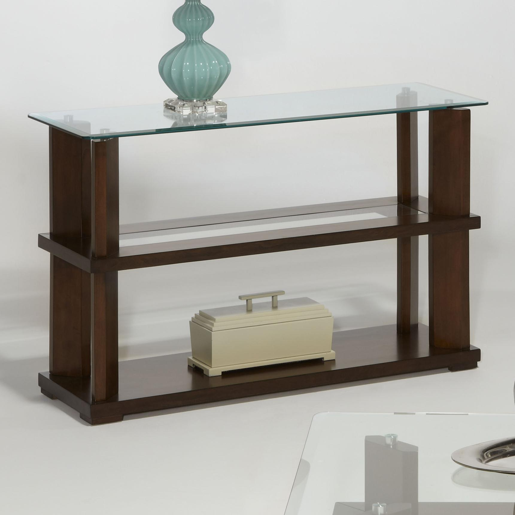 Progressive Furniture Delfino Sofa/Console Table - Item Number: P404-05