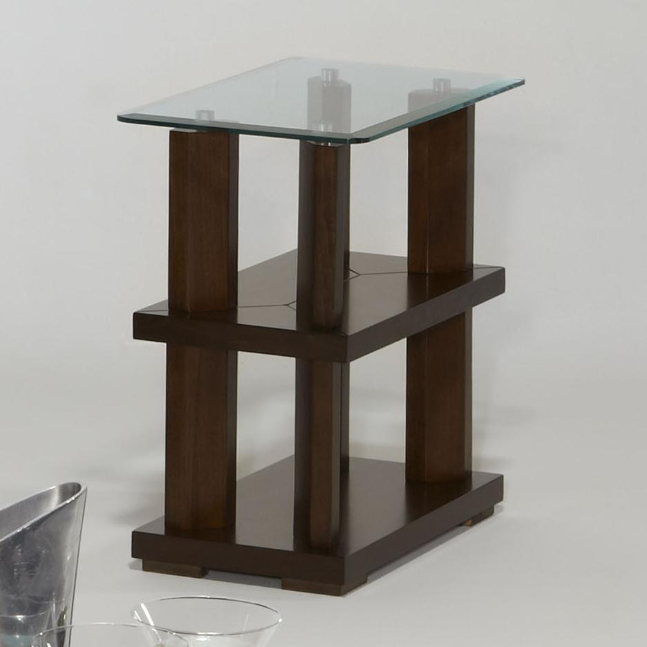 Progressive Furniture Delfino Chairside Table - Item Number: P404-29