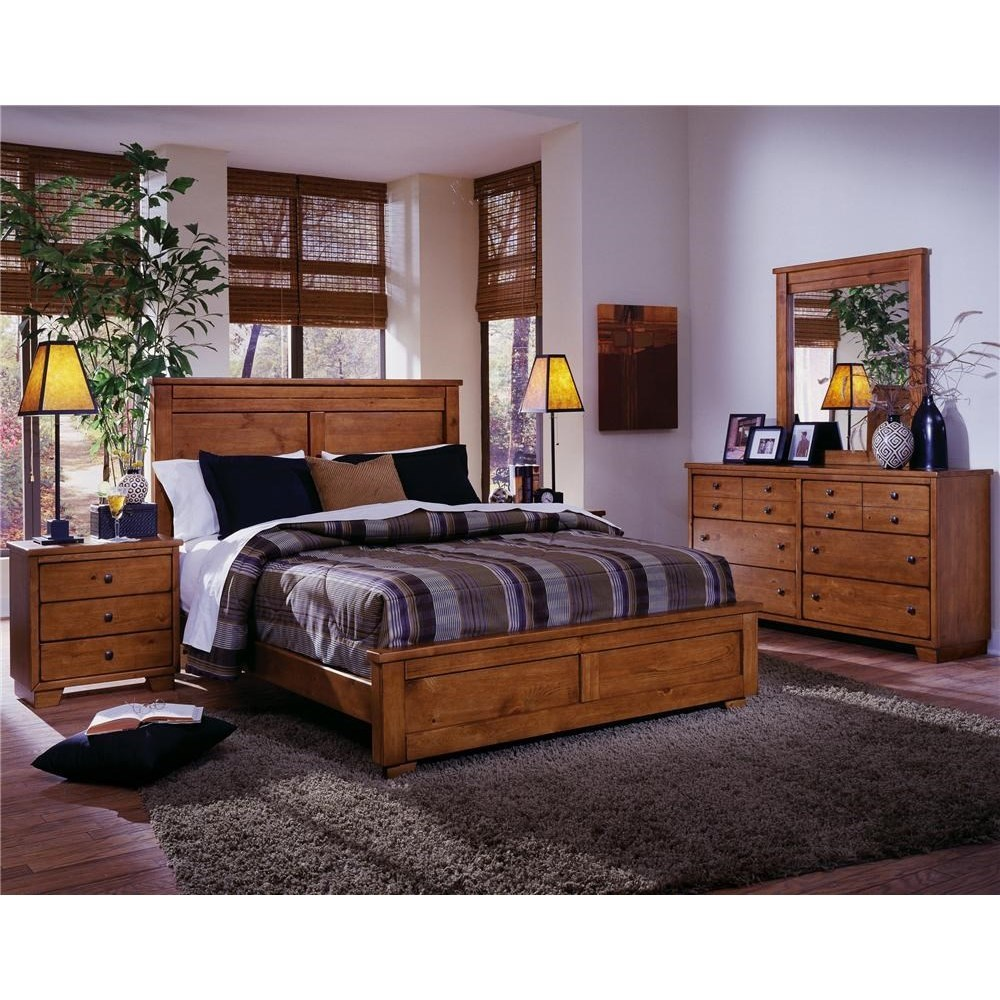 Progressive Furniture Diego Full Bedroom Group - Item Number: 61652 F Bedroom Group 1