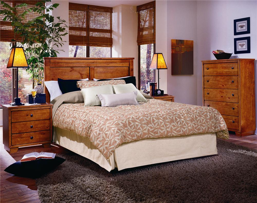Progressive Furniture Diego Full/Queen Bedroom Group - Item Number: 61652 FQ Bedroom Group 1