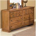 Progressive Furniture Diego Drawer Dresser - 61652-23