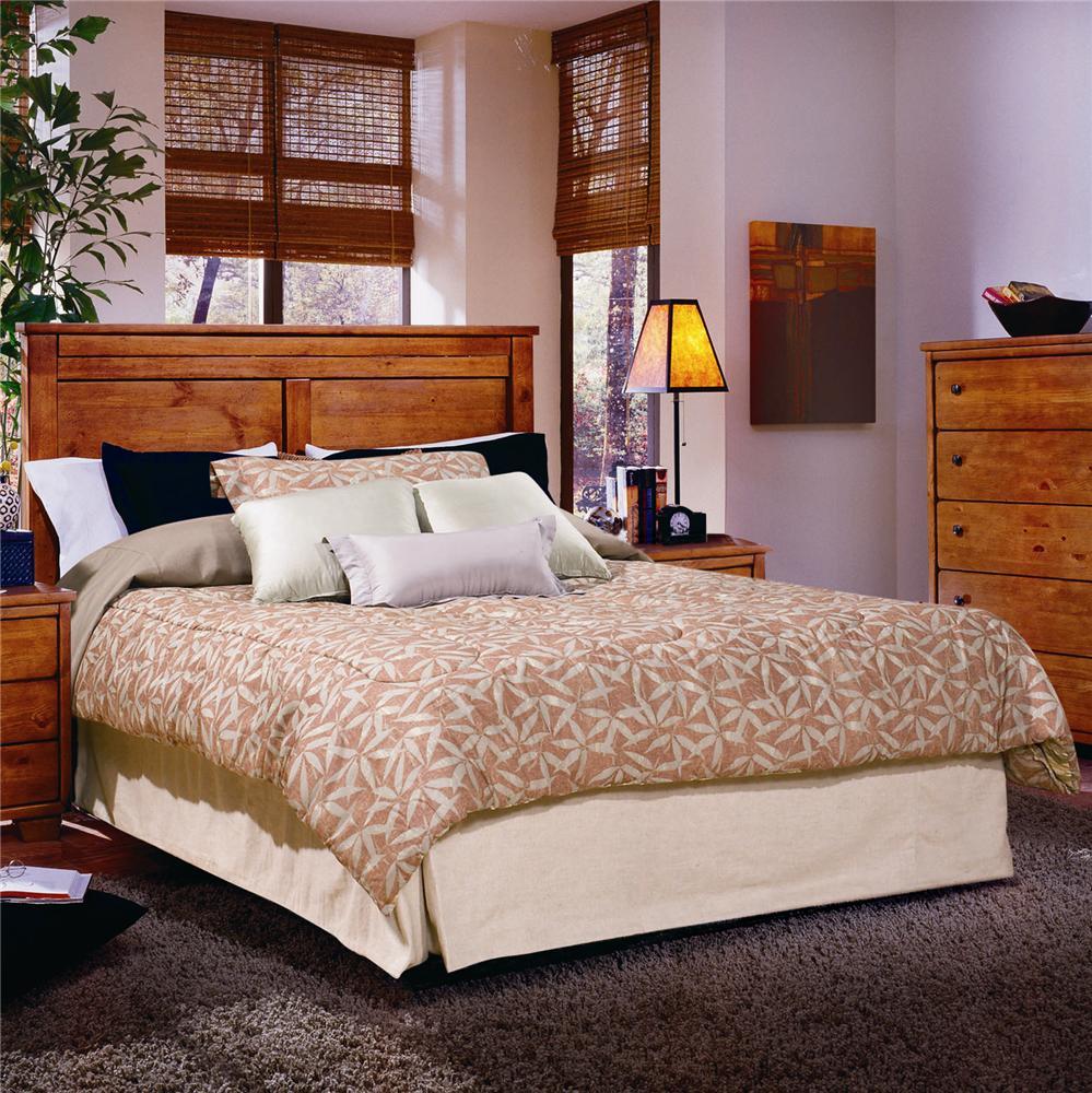 Progressive Furniture Diego Full/Queen Panel Headboard - Item Number: 61652-34