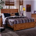 Progressive Furniture Diego California King Panel Bed - Item Number: 61652-94+95+98