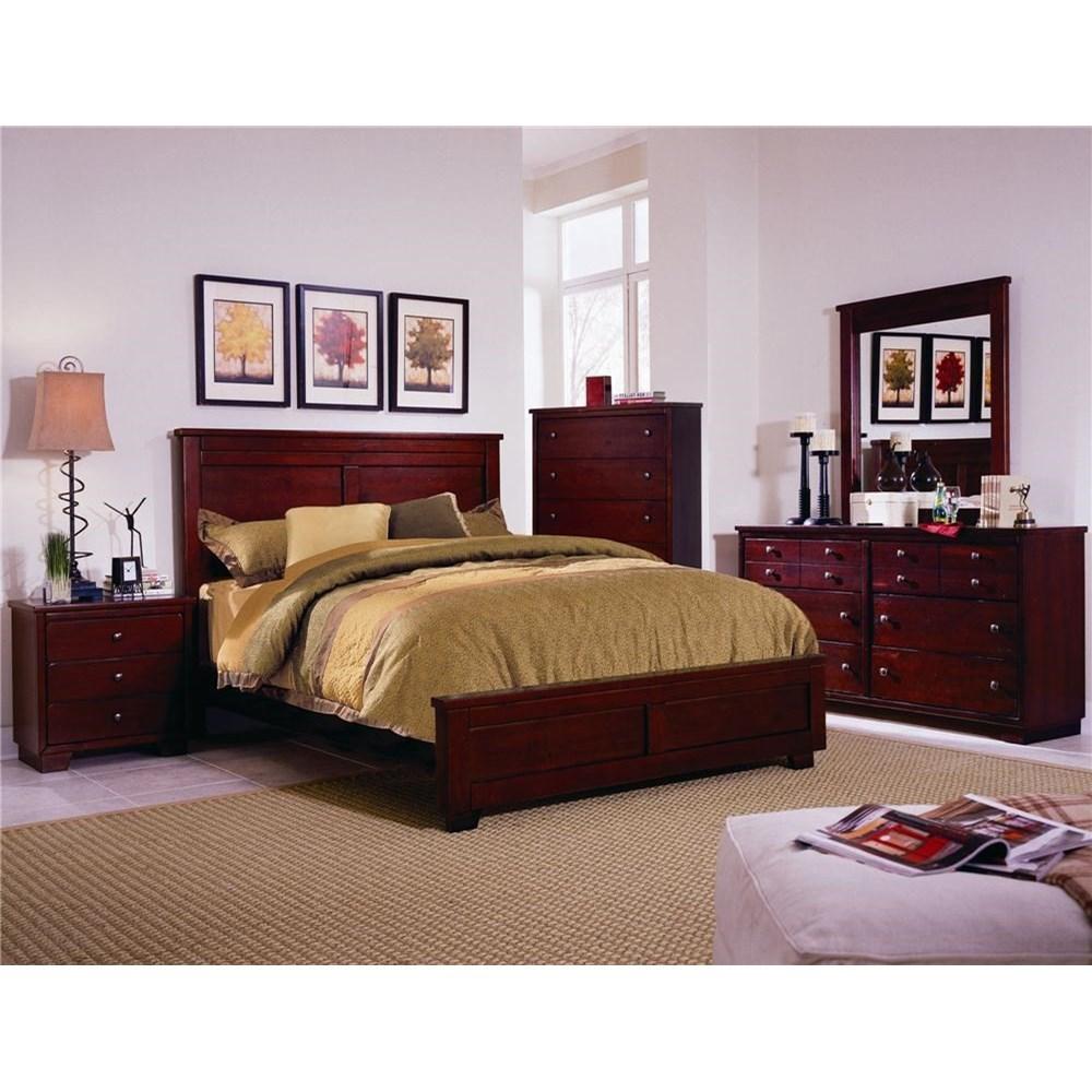 Progressive Furniture Diego Full Bedroom Group - Item Number: 61662 F Bedroom Group 1