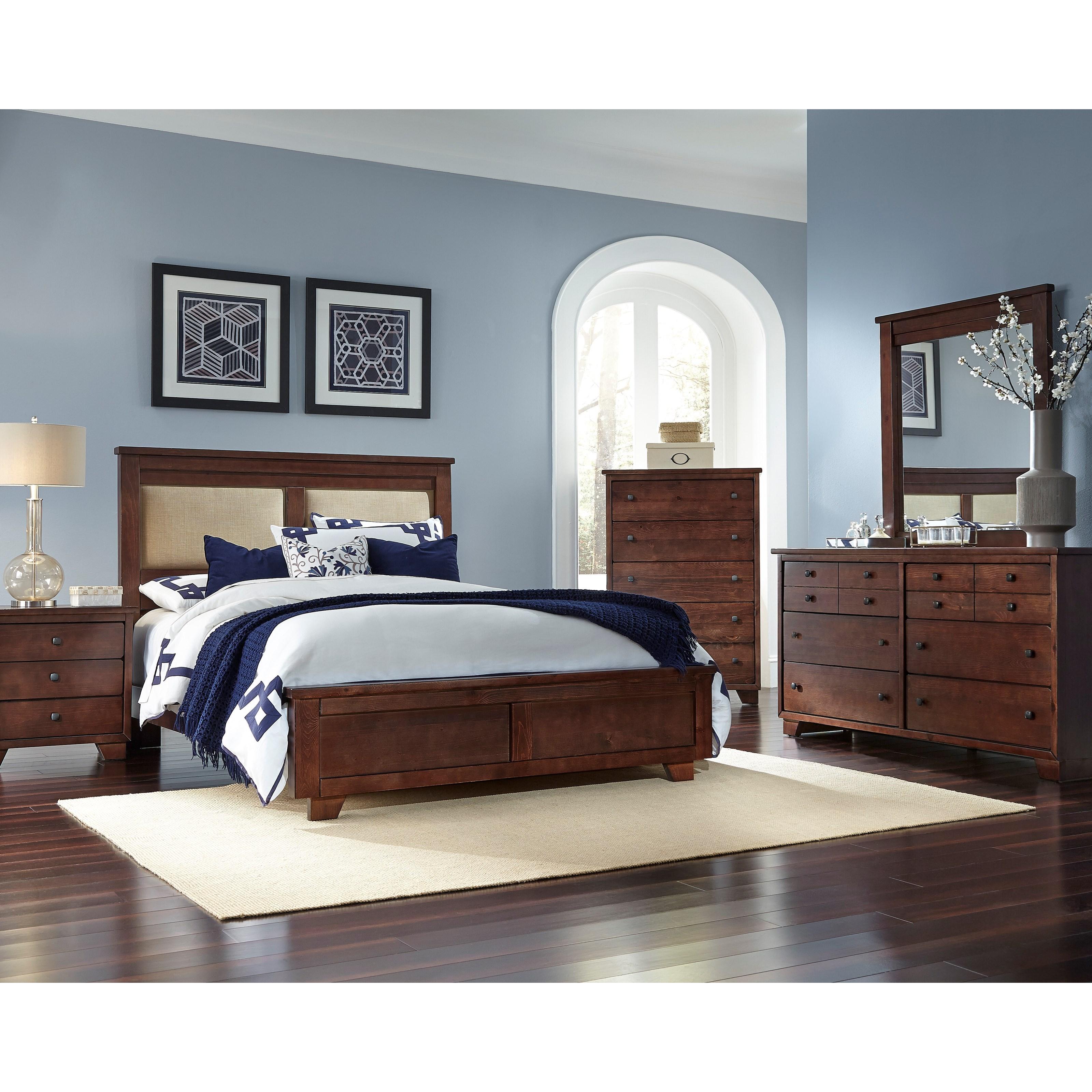 Bedroom Furniture Manufacturer: Progressive Furniture Diego Queen Bedroom Group