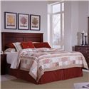 Progressive Furniture Diego Full/Queen Panel Headboard - 61662-34 - Headboard Shown May Not Represent Size indicated